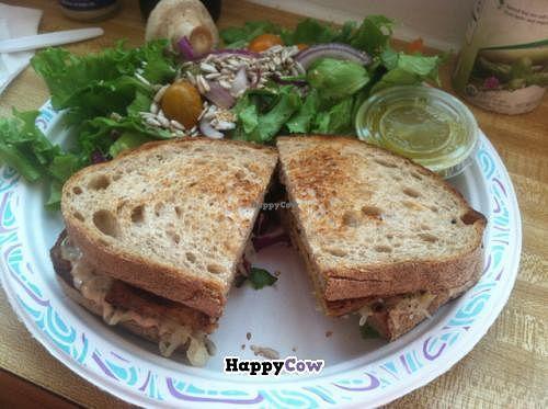 "Photo of Sugar Apple Juice Bar Cafe  by <a href=""/members/profile/Vegan%20Vagabond"">Vegan Vagabond</a> <br/>tempeh reuban  <br/> November 30, 2013  - <a href='/contact/abuse/image/1815/59438'>Report</a>"