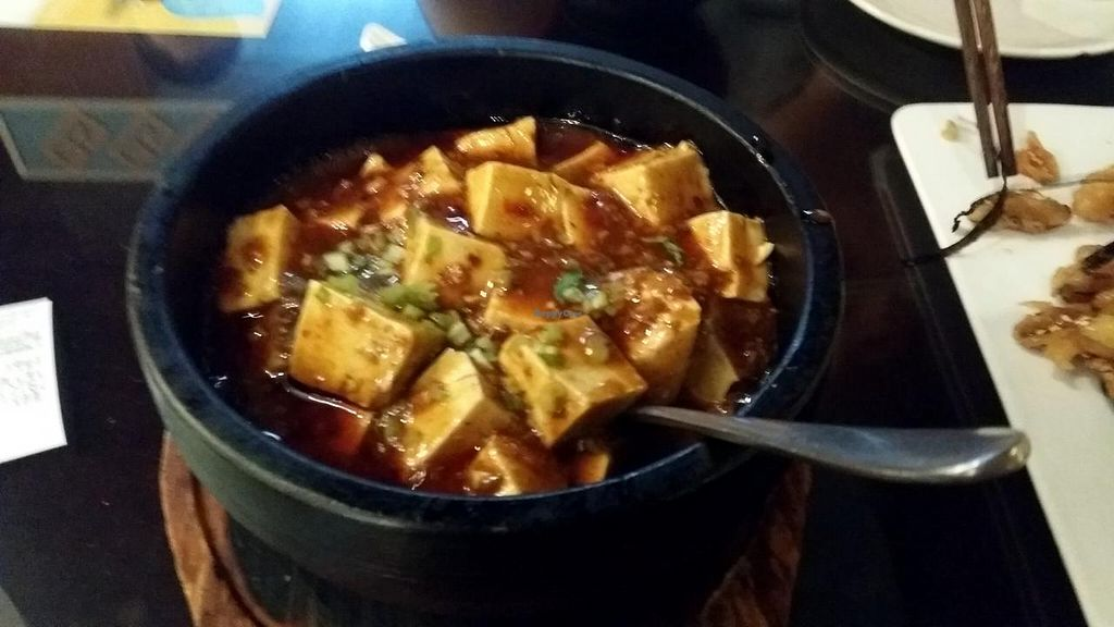 """Photo of SUHU - Vegetarian Tiger - Huayuan Building  by <a href=""""/members/profile/jungsiah"""">jungsiah</a> <br/>Mapo Tofu  <br/> May 21, 2015  - <a href='/contact/abuse/image/18162/102939'>Report</a>"""