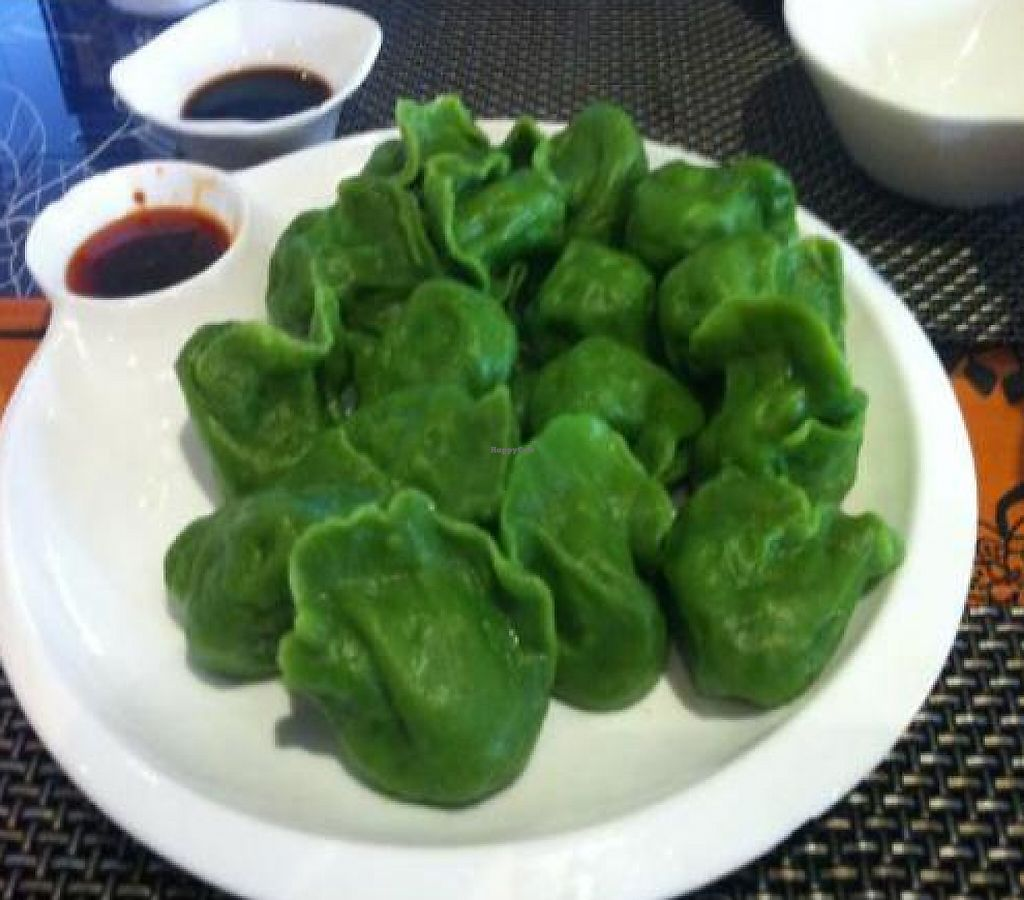 """Photo of SUHU - Vegetarian Tiger - Huayuan Building  by <a href=""""/members/profile/Pitaya"""">Pitaya</a> <br/>Delicious dumplings - jiaozi <br/> February 22, 2012  - <a href='/contact/abuse/image/18162/223246'>Report</a>"""