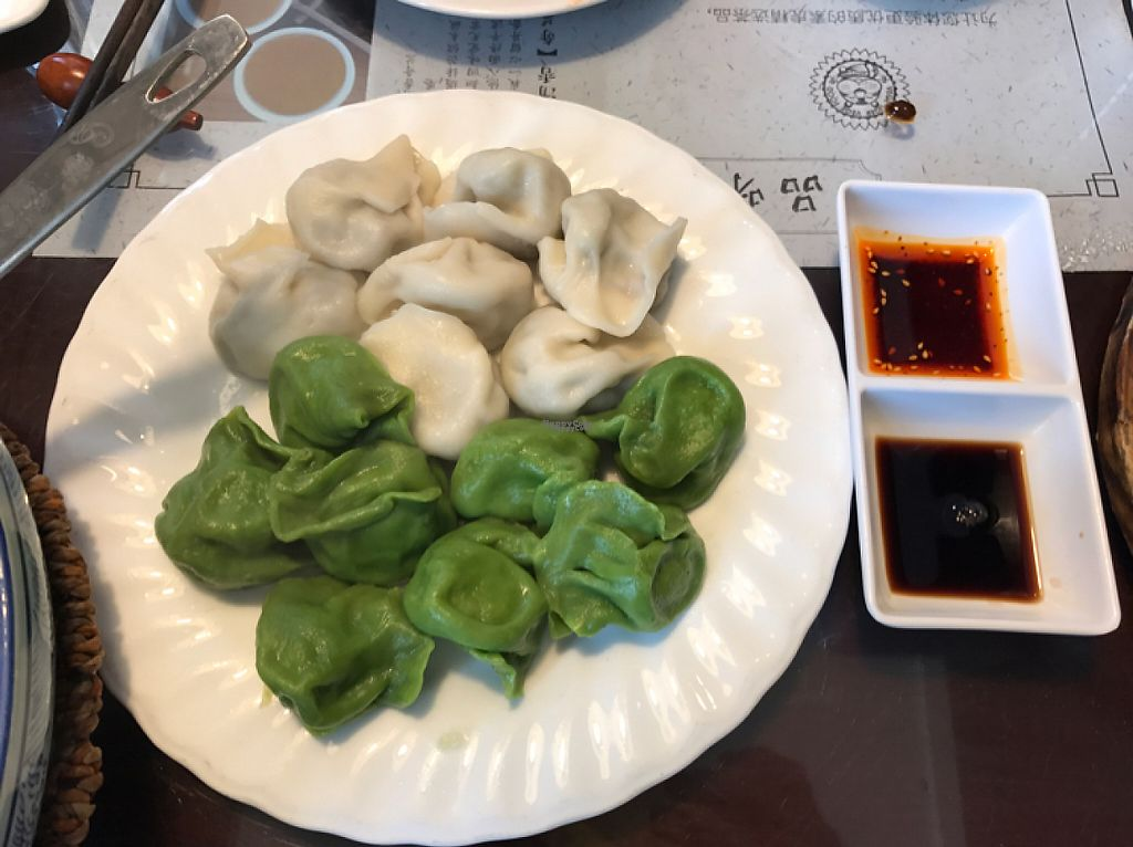 """Photo of SUHU - Vegetarian Tiger - Huayuan Building  by <a href=""""/members/profile/lindseymiller"""">lindseymiller</a> <br/>their dumplings were my favorite  <br/> April 12, 2017  - <a href='/contact/abuse/image/18162/247358'>Report</a>"""