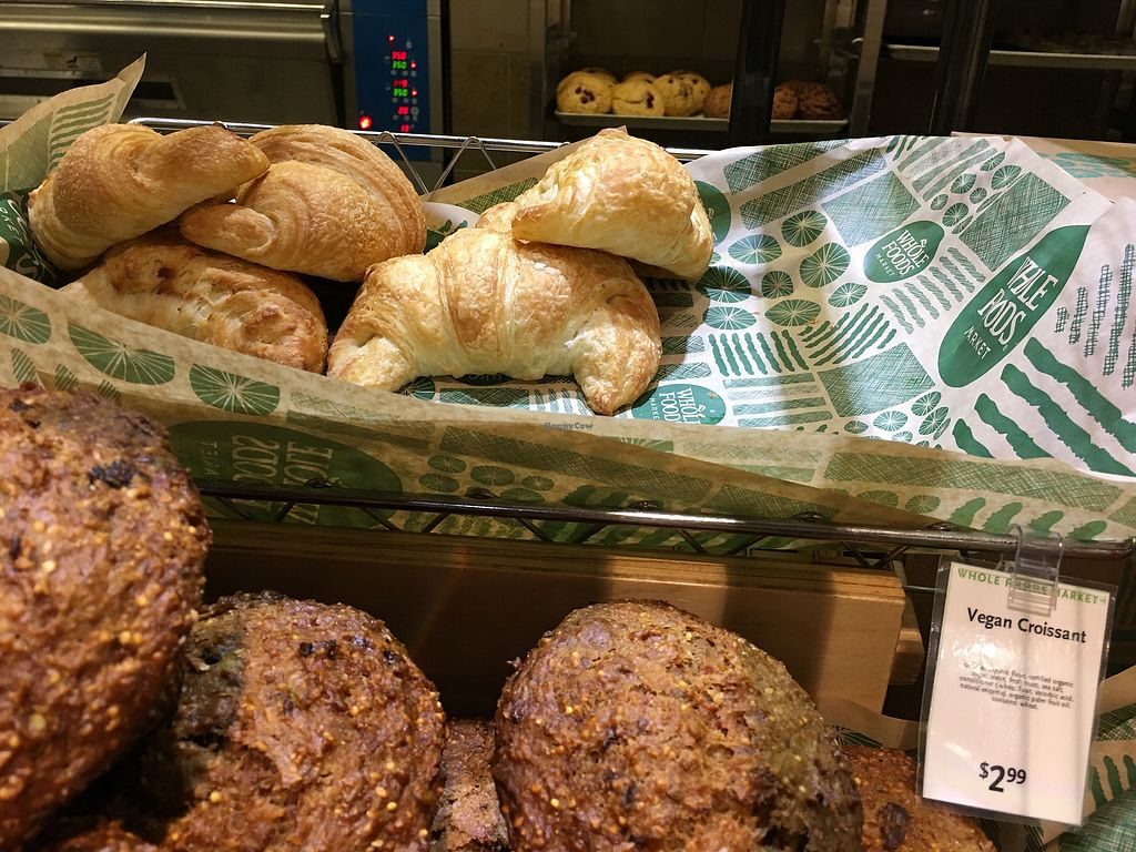 "Photo of Whole Foods Market - Cambie  by <a href=""/members/profile/Siup"">Siup</a> <br/>Vegan croissant  <br/> December 12, 2017  - <a href='/contact/abuse/image/18186/335090'>Report</a>"