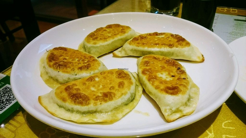"Photo of Jing Lian Zhai - Hepingli  by <a href=""/members/profile/MonikaZar"">MonikaZar</a> <br/>Dumplings filled with green herbs <br/> February 22, 2018  - <a href='/contact/abuse/image/18217/362343'>Report</a>"