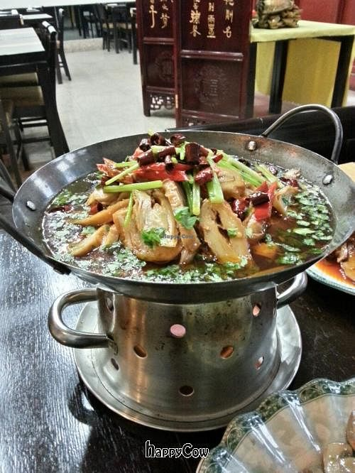 """Photo of Daxingshan Temple Vegetarian  by <a href=""""/members/profile/psiphi75"""">psiphi75</a> <br/>Yummy pot of tofu in broth.  A bit spicy <br/> November 17, 2012  - <a href='/contact/abuse/image/18260/40338'>Report</a>"""