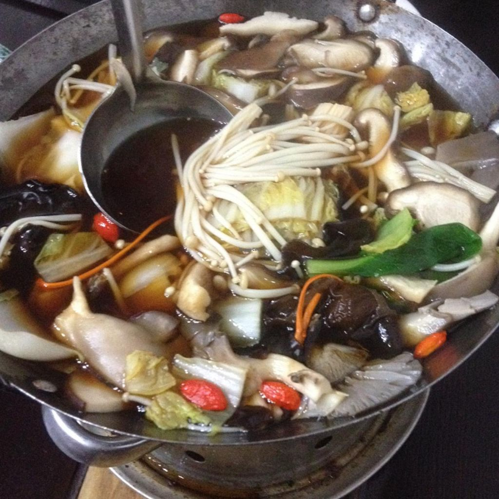 """Photo of Daxingshan Temple Vegetarian  by <a href=""""/members/profile/junglechick"""">junglechick</a> <br/>mushroom hot pot <br/> January 20, 2015  - <a href='/contact/abuse/image/18260/90827'>Report</a>"""