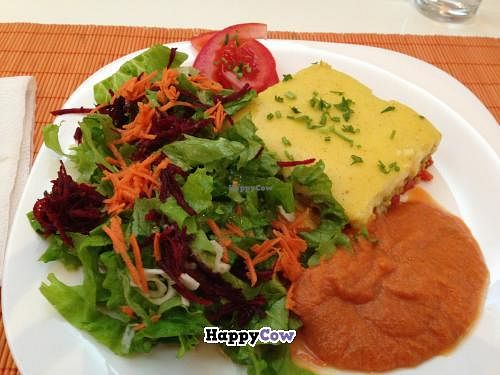 """Photo of Kring  by <a href=""""/members/profile/veggieriga"""">veggieriga</a> <br/>Kring moussaka lunch special <br/> December 16, 2013  - <a href='/contact/abuse/image/18330/60378'>Report</a>"""
