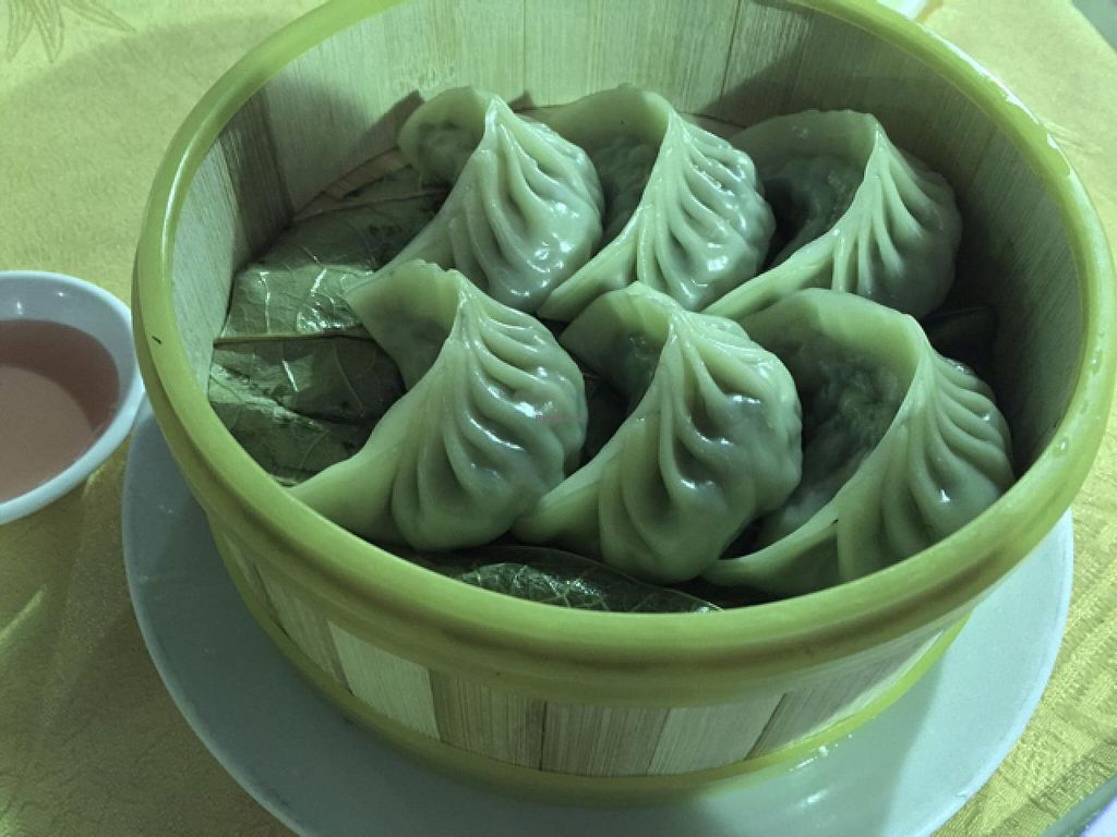 "Photo of Fo You Yuan Vegetarian  by <a href=""/members/profile/Jrosworld"">Jrosworld</a> <br/>Steamed dumplings, ¥20 <br/> February 18, 2015  - <a href='/contact/abuse/image/18337/93446'>Report</a>"
