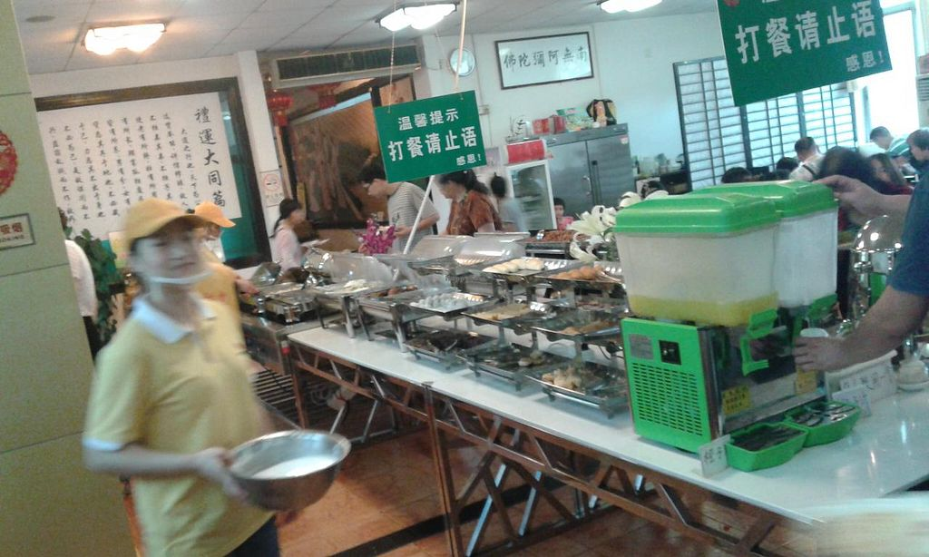 """Photo of Sheng Hai - Saint Love Vegetarian  by <a href=""""/members/profile/Darteous"""">Darteous</a> <br/>buffet line <br/> May 24, 2015  - <a href='/contact/abuse/image/18341/103232'>Report</a>"""