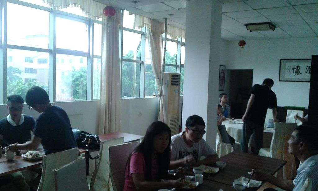 """Photo of Sheng Hai - Saint Love Vegetarian  by <a href=""""/members/profile/Darteous"""">Darteous</a> <br/>An enclosed dining area for reservations, possibly for VIP, I'm not sure <br/> May 24, 2015  - <a href='/contact/abuse/image/18341/103239'>Report</a>"""
