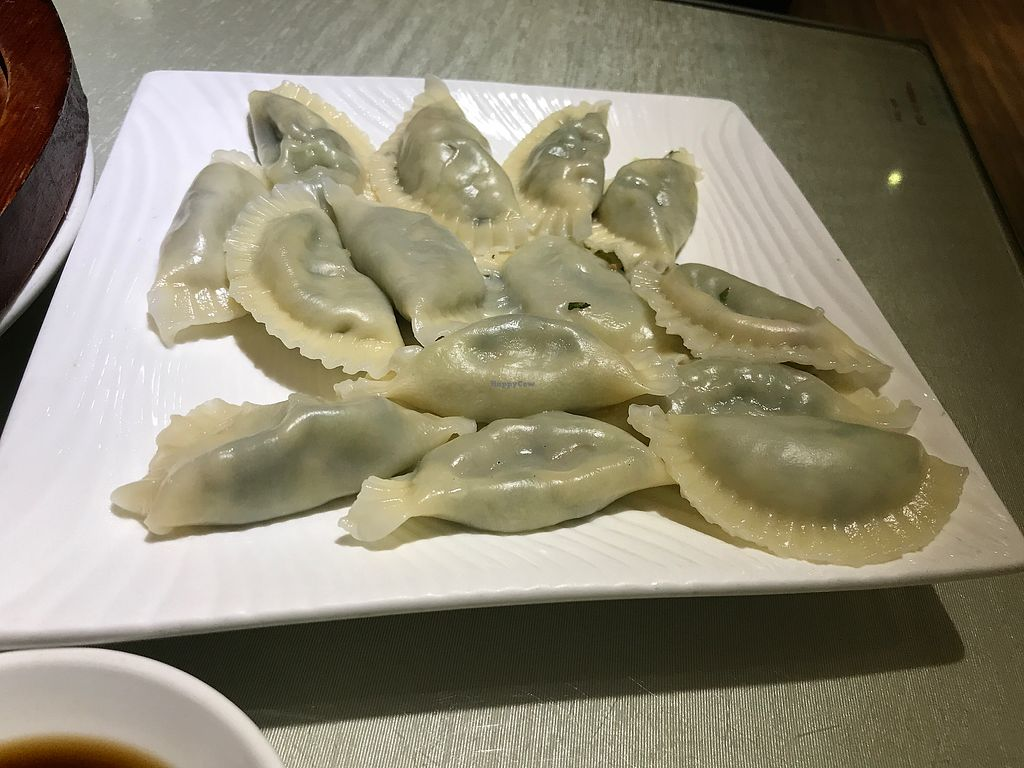 """Photo of CLOSED: Tian Chu Vegetarian  by <a href=""""/members/profile/oskeewowwow"""">oskeewowwow</a> <br/>veggie ravioli <br/> June 22, 2017  - <a href='/contact/abuse/image/18353/272217'>Report</a>"""