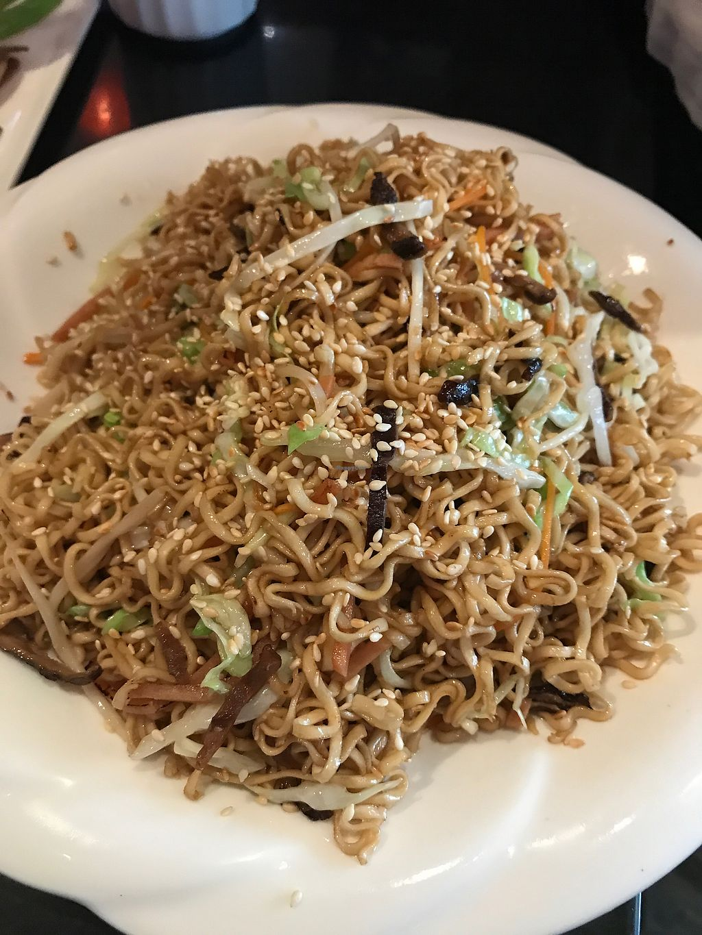 """Photo of Shan Ding Dong Ren - Caveman Vegetarian Teahouse  by <a href=""""/members/profile/VeganRambo"""">VeganRambo</a> <br/>Very tasty noodles, definite try it <br/> July 19, 2017  - <a href='/contact/abuse/image/18363/281996'>Report</a>"""