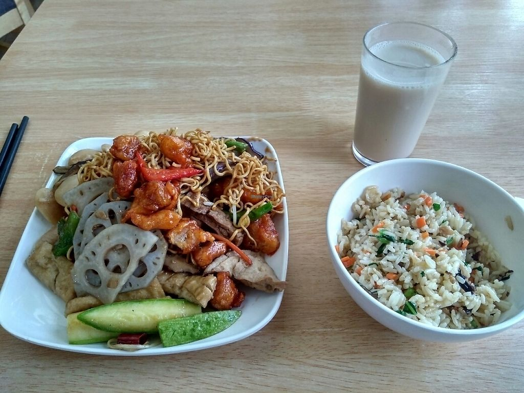 """Photo of Deng Pin Vegetarian  by <a href=""""/members/profile/JackTanner"""">JackTanner</a> <br/>Lunch  <br/> May 31, 2017  - <a href='/contact/abuse/image/18378/264519'>Report</a>"""