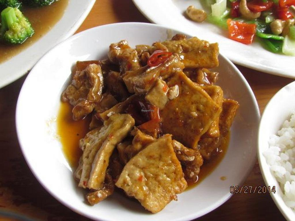 """Photo of Baoguang Temple Vegetarian  by <a href=""""/members/profile/papajonquinn"""">papajonquinn</a> <br/>Braised Tofu <br/> May 28, 2014  - <a href='/contact/abuse/image/18381/70959'>Report</a>"""