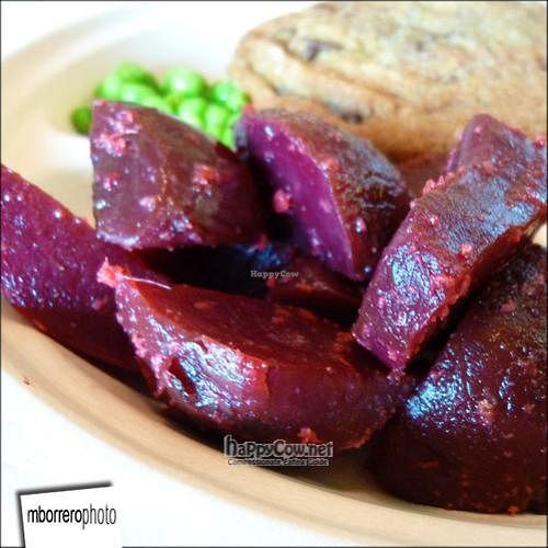 """Photo of Whole Foods Market  by <a href=""""/members/profile/mborrero"""">mborrero</a> <br/>Ginger and Garlic Beets <br/> June 4, 2011  - <a href='/contact/abuse/image/1838/9027'>Report</a>"""