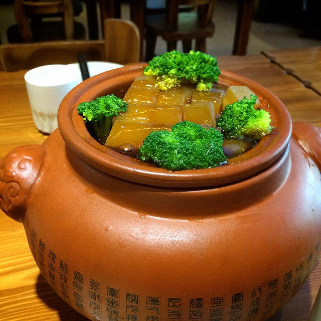 """Photo of Shou Kang Yong Vegetarian  by <a href=""""/members/profile/Brian%20Ash"""">Brian Ash</a> <br/>tofu <br/> August 1, 2015  - <a href='/contact/abuse/image/18402/111923'>Report</a>"""