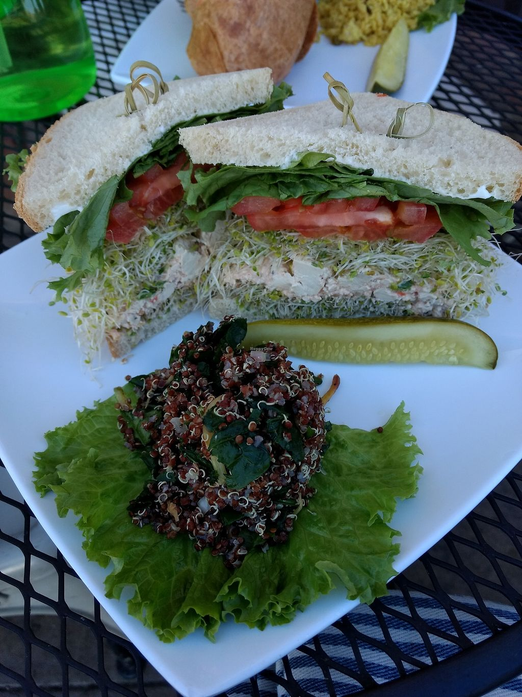 """Photo of Natural Sister Cafe  by <a href=""""/members/profile/anastronomy"""">anastronomy</a> <br/>Eggless tofu sandwich <br/> December 21, 2017  - <a href='/contact/abuse/image/18427/337783'>Report</a>"""