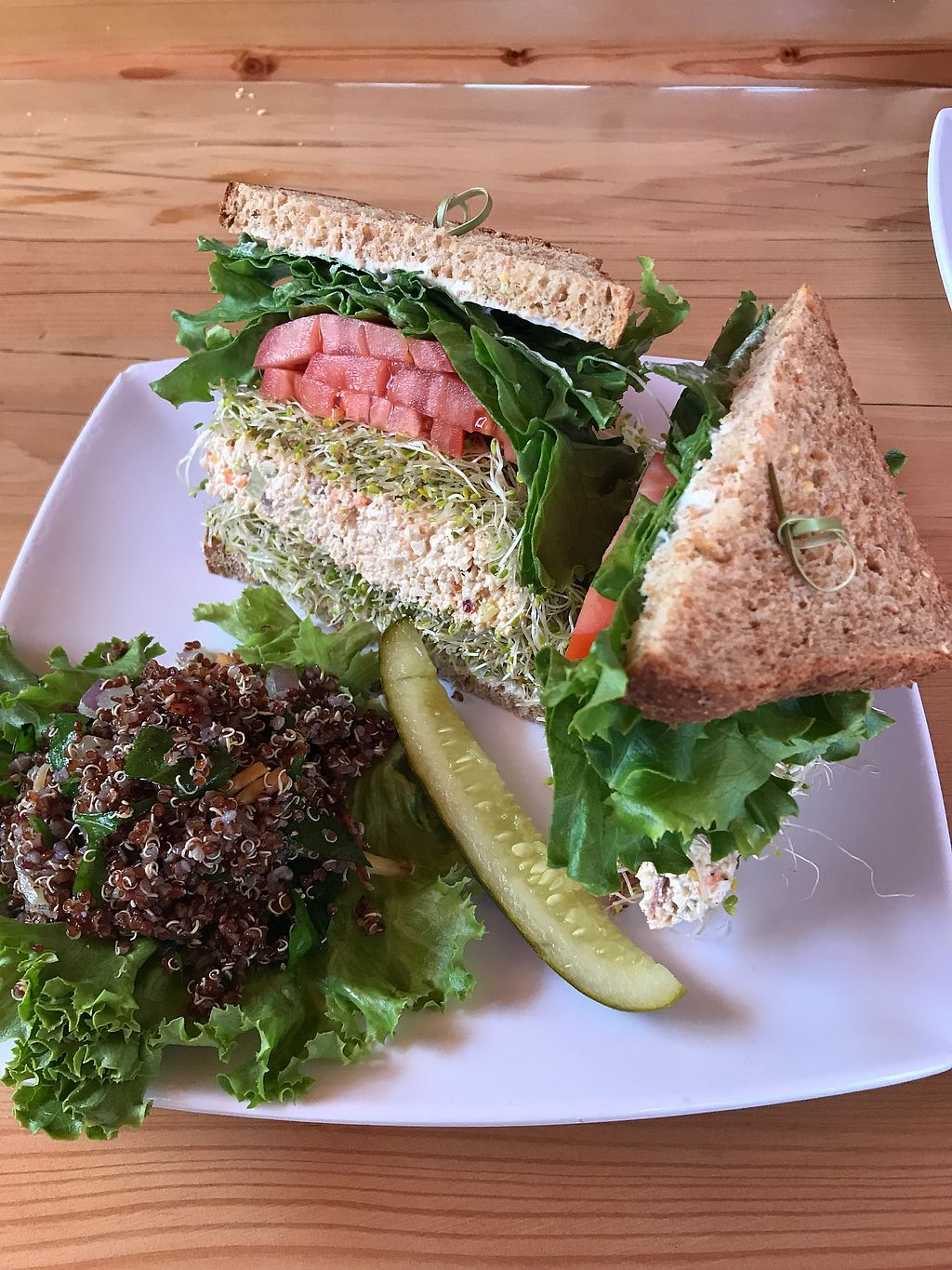 """Photo of Natural Sister Cafe  by <a href=""""/members/profile/Birgit"""">Birgit</a> <br/>Best eggless sandwich ever <br/> May 6, 2018  - <a href='/contact/abuse/image/18427/395861'>Report</a>"""