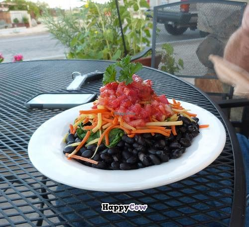 """Photo of Natural Sister Cafe  by <a href=""""/members/profile/Labylala"""">Labylala</a> <br/>Beans with salsa <br/> August 30, 2013  - <a href='/contact/abuse/image/18427/54063'>Report</a>"""