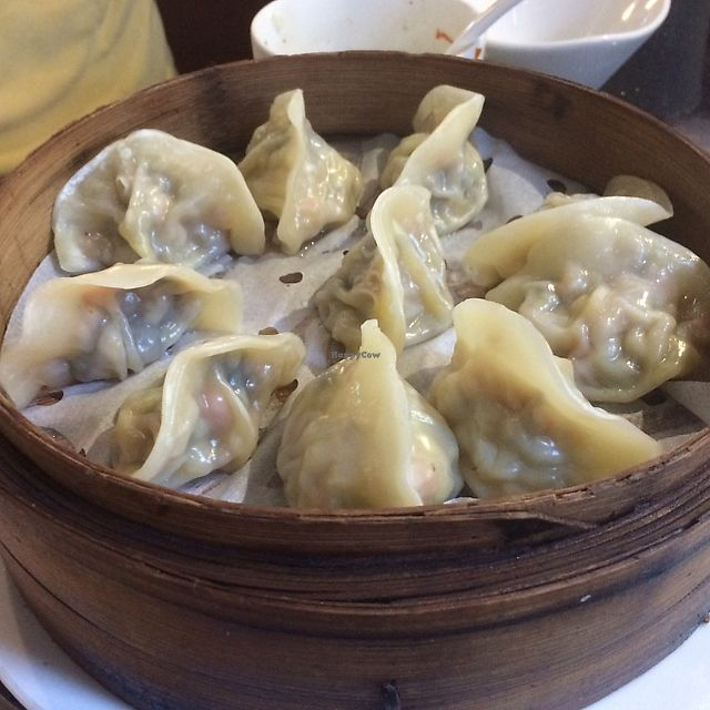 """Photo of Samadhi Art & Cafe  by <a href=""""/members/profile/albert604"""" class=""""title__title"""">albert604</a> <br/>Dumplings  <br/> June 11, 2017  - <a href='/contact/abuse/image/18469/267975'>Report</a>"""