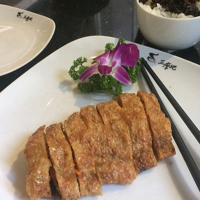 """Photo of Samadhi Art & Cafe  by <a href=""""/members/profile/albert604"""">albert604</a> <br/>Tofu roll  <br/> June 11, 2017  - <a href='/contact/abuse/image/18469/267978'>Report</a>"""