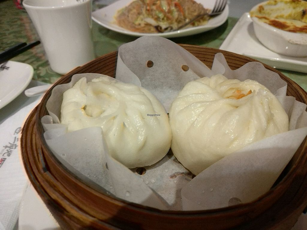 """Photo of Samadhi Art & Cafe  by <a href=""""/members/profile/cdnvegan"""">cdnvegan</a> <br/>steamed buns <br/> December 31, 2017  - <a href='/contact/abuse/image/18469/341181'>Report</a>"""