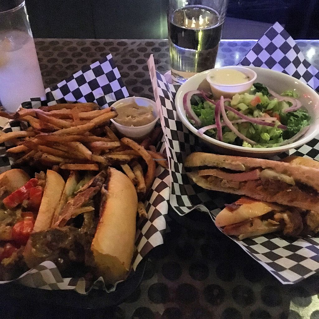 "Photo of Sputnik  by <a href=""/members/profile/annwillsee"">annwillsee</a> <br/>Vegan philly and cuban w/vegan dipping sauces/dressings <br/> January 8, 2018  - <a href='/contact/abuse/image/18531/344203'>Report</a>"