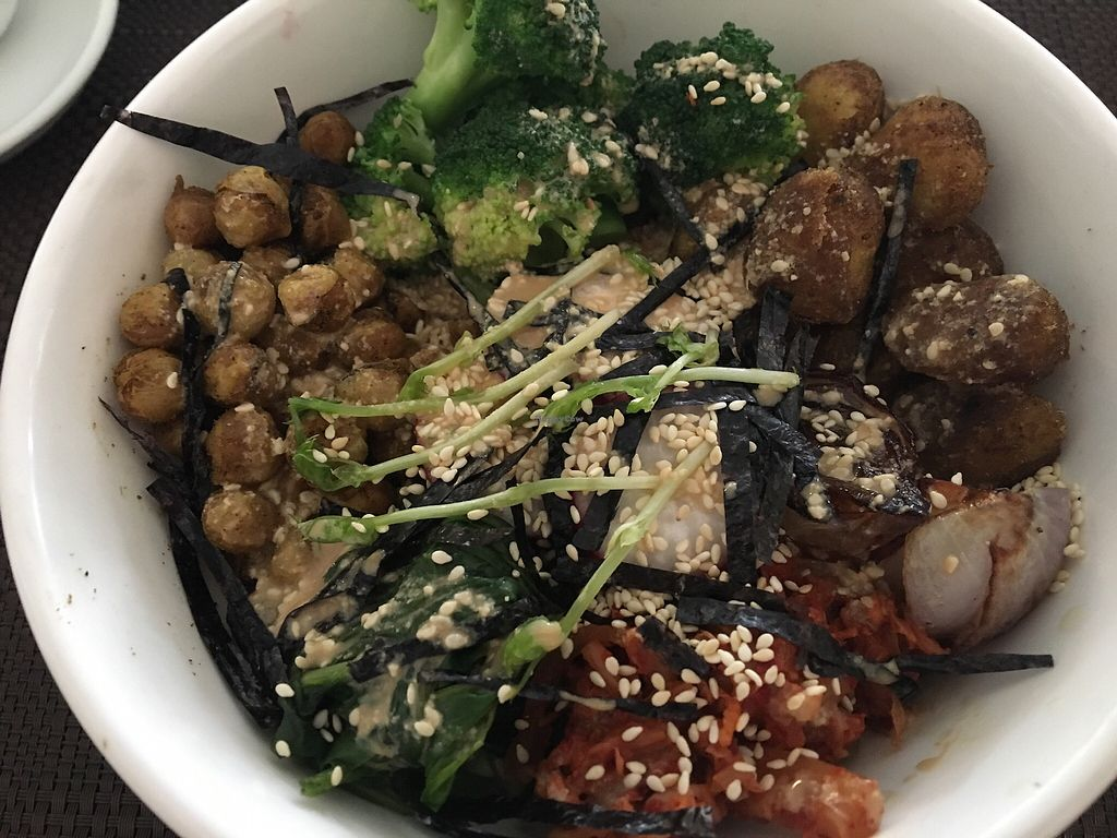 """Photo of Corner Tree Cafe  by <a href=""""/members/profile/ZiggyKohl"""">ZiggyKohl</a> <br/>Buddha bowl  <br/> December 2, 2017  - <a href='/contact/abuse/image/18567/331332'>Report</a>"""