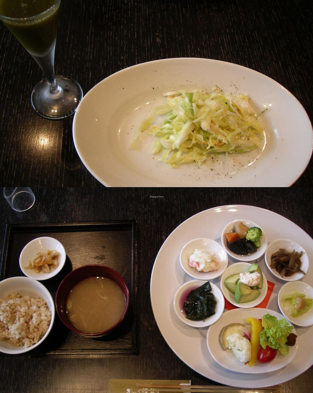 """Photo of Dorobushi  by <a href=""""/members/profile/Ricardo"""">Ricardo</a> <br/>Vegetable lunch set 1980yen (vegan by request) <br/> March 30, 2014  - <a href='/contact/abuse/image/18582/66726'>Report</a>"""