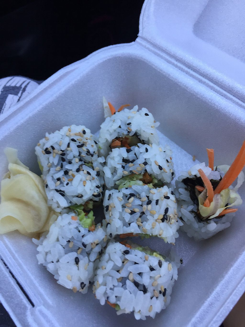 "Photo of Thai House  by <a href=""/members/profile/rosamonique97"">rosamonique97</a> <br/>Veggie sushi w/ avocado  <br/> March 15, 2018  - <a href='/contact/abuse/image/18591/371124'>Report</a>"