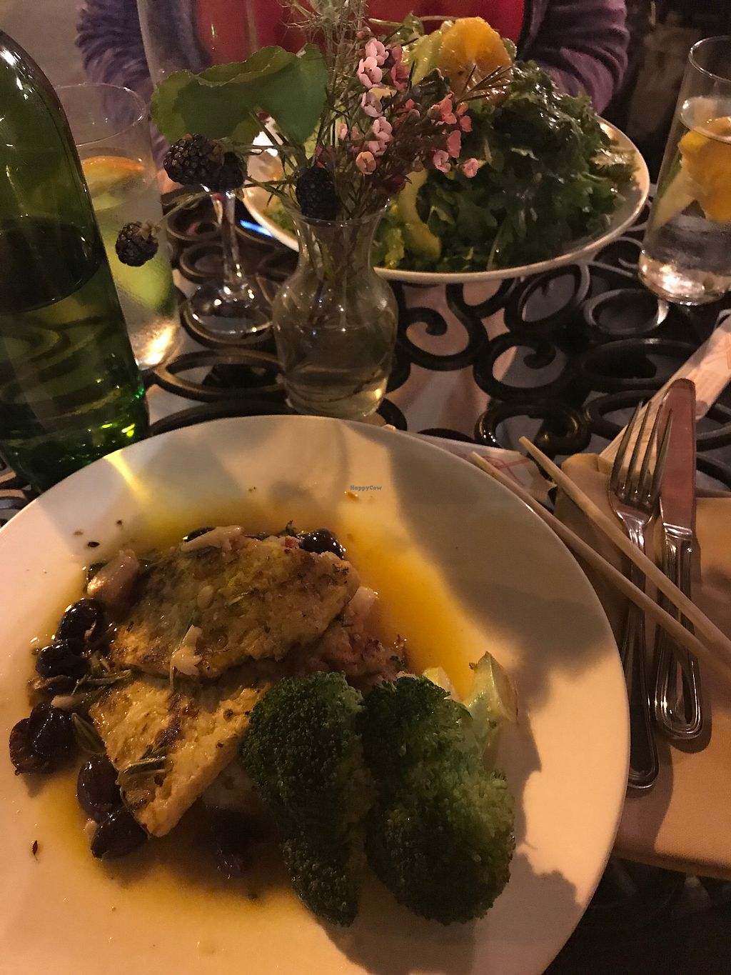 "Photo of Plum Bistro  by <a href=""/members/profile/OliviaLimone"">OliviaLimone</a> <br/>Tempeh Vermouth (front) & kale salad (back)  <br/> August 12, 2017  - <a href='/contact/abuse/image/18615/291834'>Report</a>"