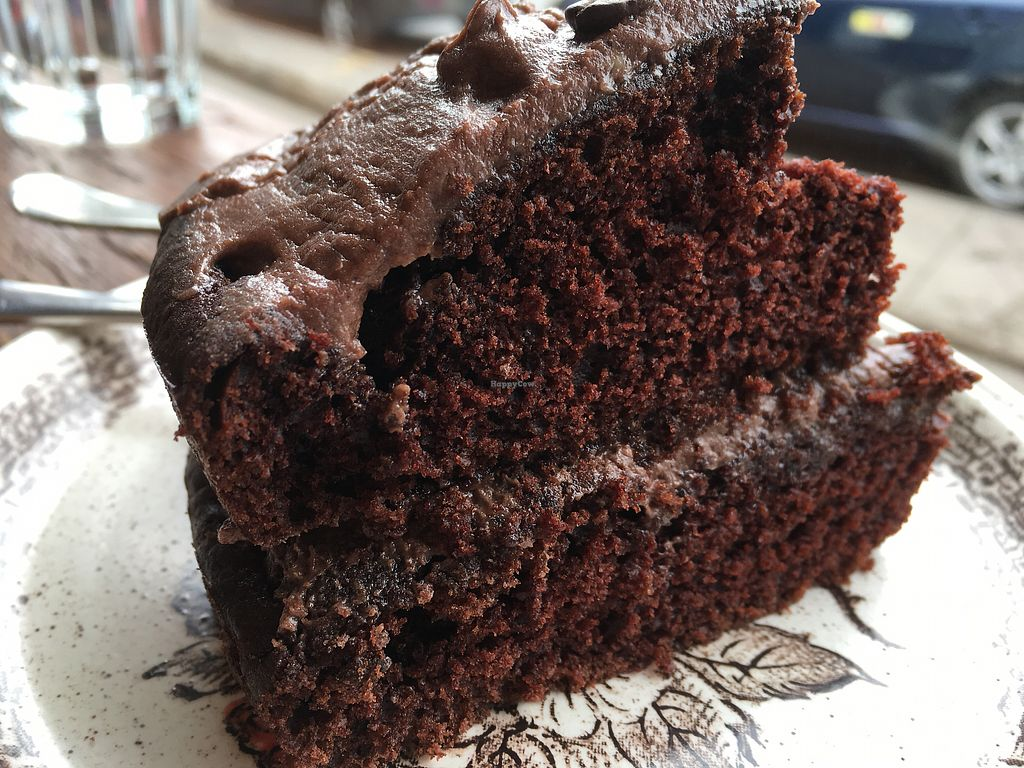 "Photo of The Rude Shipyard  by <a href=""/members/profile/hack_man"">hack_man</a> <br/>Vegan chocolate cake  <br/> March 23, 2018  - <a href='/contact/abuse/image/18617/374825'>Report</a>"
