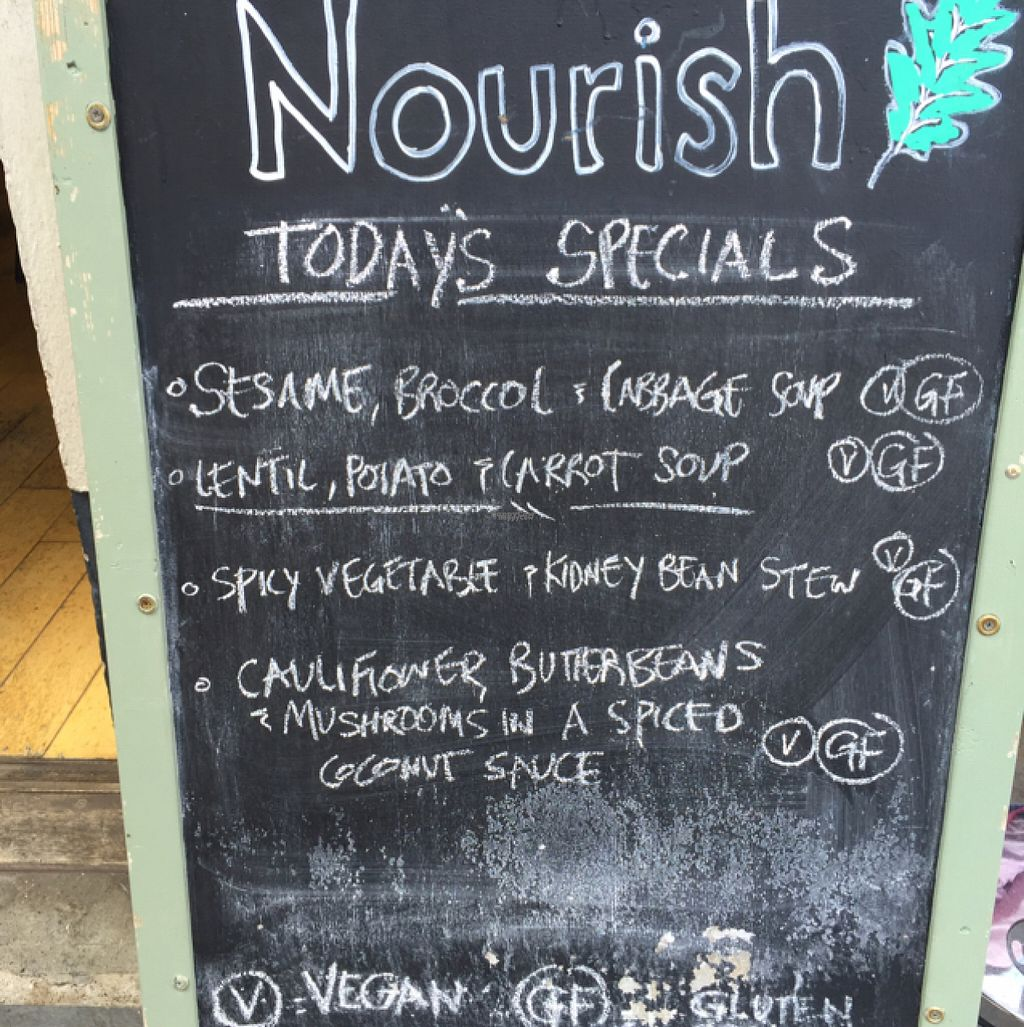 """Photo of Nourish  by <a href=""""/members/profile/NatalieDowelMcIntosh"""">NatalieDowelMcIntosh</a> <br/>Daily specials <br/> August 16, 2016  - <a href='/contact/abuse/image/18618/169272'>Report</a>"""