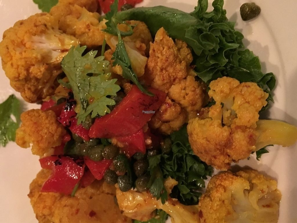 "Photo of Busboys and Poets - Langston Lofts  by <a href=""/members/profile/cookiem"">cookiem</a> <br/>Cauliflower salad <br/> August 15, 2016  - <a href='/contact/abuse/image/18671/191604'>Report</a>"