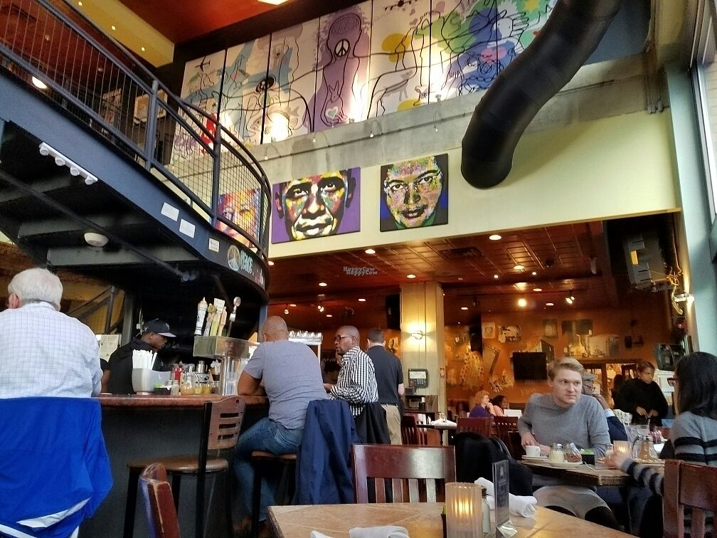 """Photo of Busboys and Poets - Mount Vernon Triangle  by <a href=""""/members/profile/EverydayTastiness"""">EverydayTastiness</a> <br/>inside  <br/> October 14, 2016  - <a href='/contact/abuse/image/18672/182119'>Report</a>"""