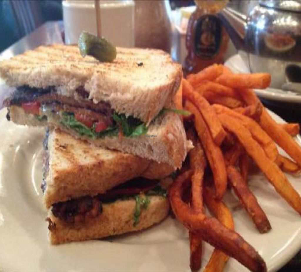 """Photo of Busboys and Poets - Mount Vernon Triangle  by <a href=""""/members/profile/ConsciousBurning"""">ConsciousBurning</a> <br/>Vegan tempeh panino <br/> December 19, 2012  - <a href='/contact/abuse/image/18672/191752'>Report</a>"""