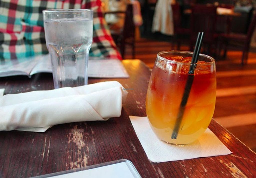 """Photo of Busboys and Poets - Mount Vernon Triangle  by <a href=""""/members/profile/Raesock"""">Raesock</a> <br/>Dark and Handsome cocktail <br/> November 7, 2014  - <a href='/contact/abuse/image/18672/84907'>Report</a>"""