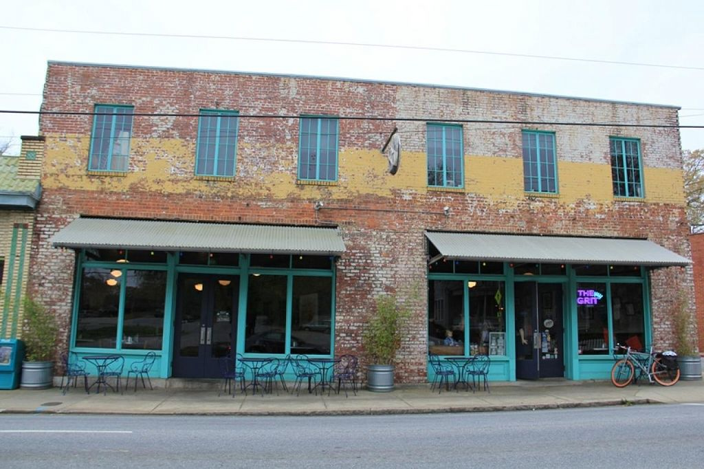 """Photo of The Grit  by <a href=""""/members/profile/Julie%20R"""">Julie R</a> <br/>The outside of the building - it is a cool, historic building with a lot of music history <br/> April 16, 2015  - <a href='/contact/abuse/image/1868/99246'>Report</a>"""