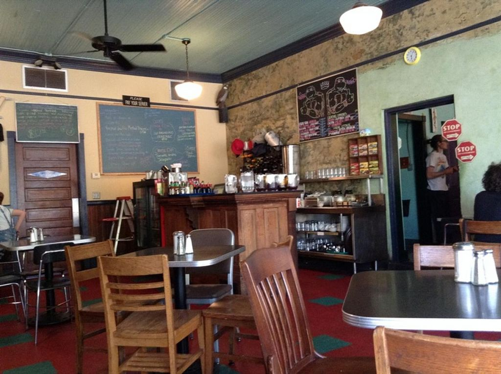 """Photo of The Grit  by <a href=""""/members/profile/Julie%20R"""">Julie R</a> <br/>The inside - super clean and the building has nice character.   <br/> April 16, 2015  - <a href='/contact/abuse/image/1868/99249'>Report</a>"""