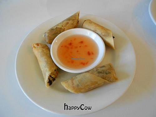 """Photo of CLOSED: Loving Hut - Ladera Ranch  by <a href=""""/members/profile/glassesgirl79"""">glassesgirl79</a> <br/>Crispy rolls <br/> December 9, 2012  - <a href='/contact/abuse/image/18706/41444'>Report</a>"""