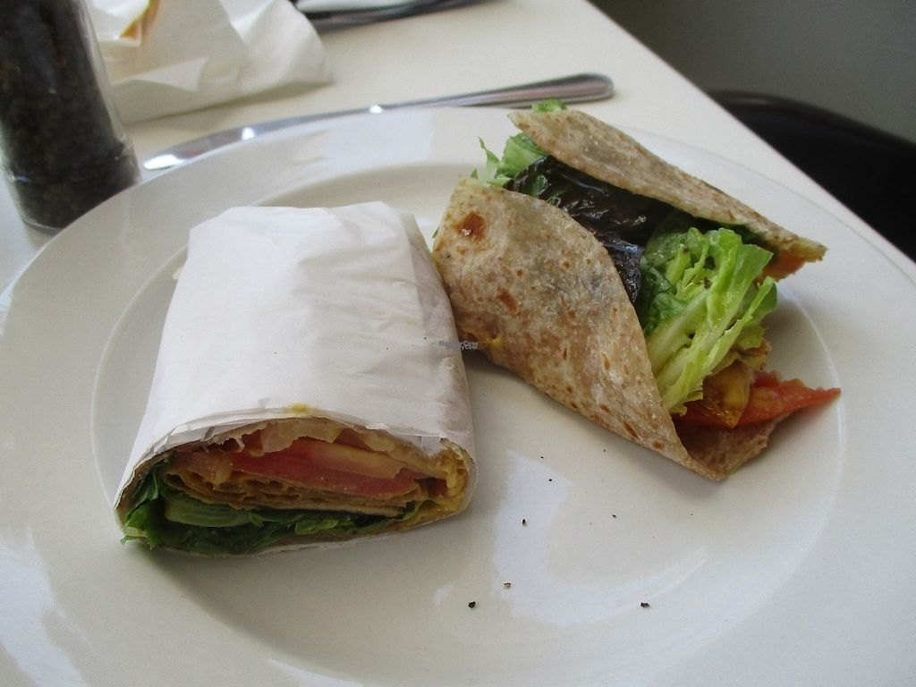 """Photo of The Greenside Cafe  by <a href=""""/members/profile/Wolfmoon"""">Wolfmoon</a> <br/>BTL wrap with vacon and veggies <br/> April 16, 2017  - <a href='/contact/abuse/image/18707/248942'>Report</a>"""