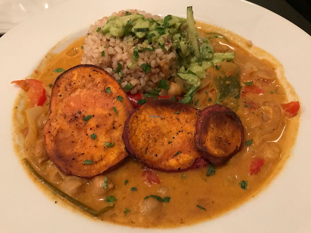 """Photo of Blossoming Lotus  by <a href=""""/members/profile/Vonna84"""">Vonna84</a> <br/>The chickpea masala <br/> October 4, 2017  - <a href='/contact/abuse/image/18709/311578'>Report</a>"""