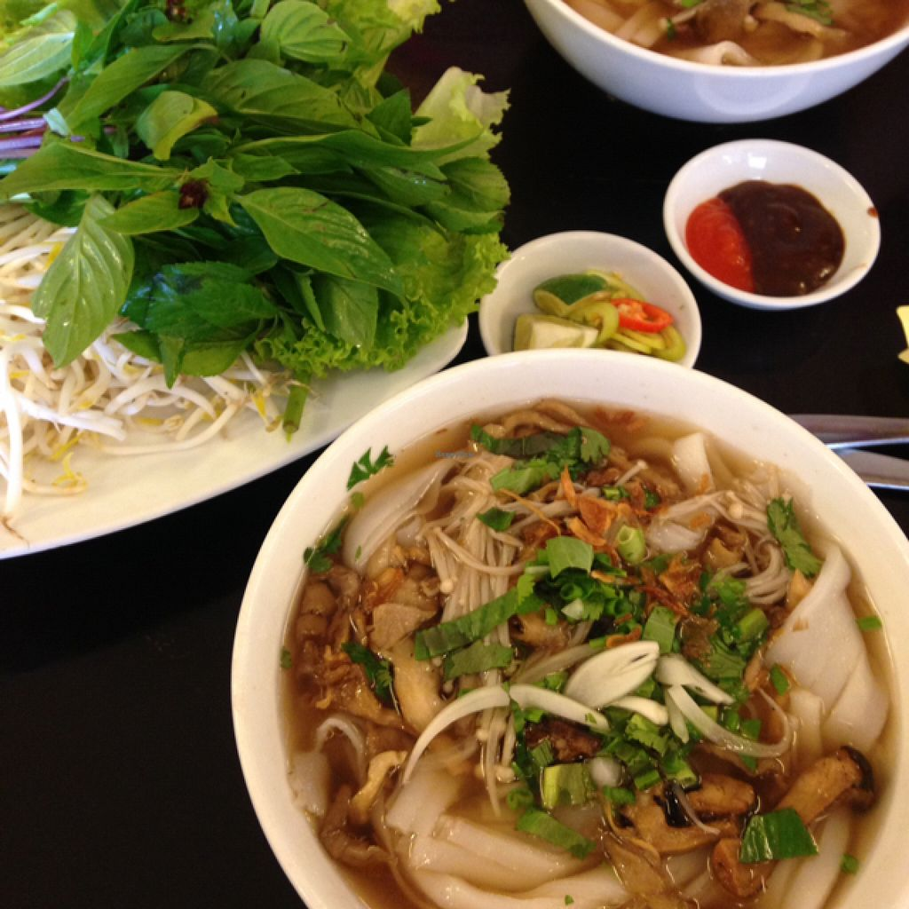 """Photo of Hoa Sen - Nha Hang Chay  by <a href=""""/members/profile/VeganEllise"""">VeganEllise</a> <br/>mushroom  phó <br/> July 5, 2016  - <a href='/contact/abuse/image/18728/157873'>Report</a>"""