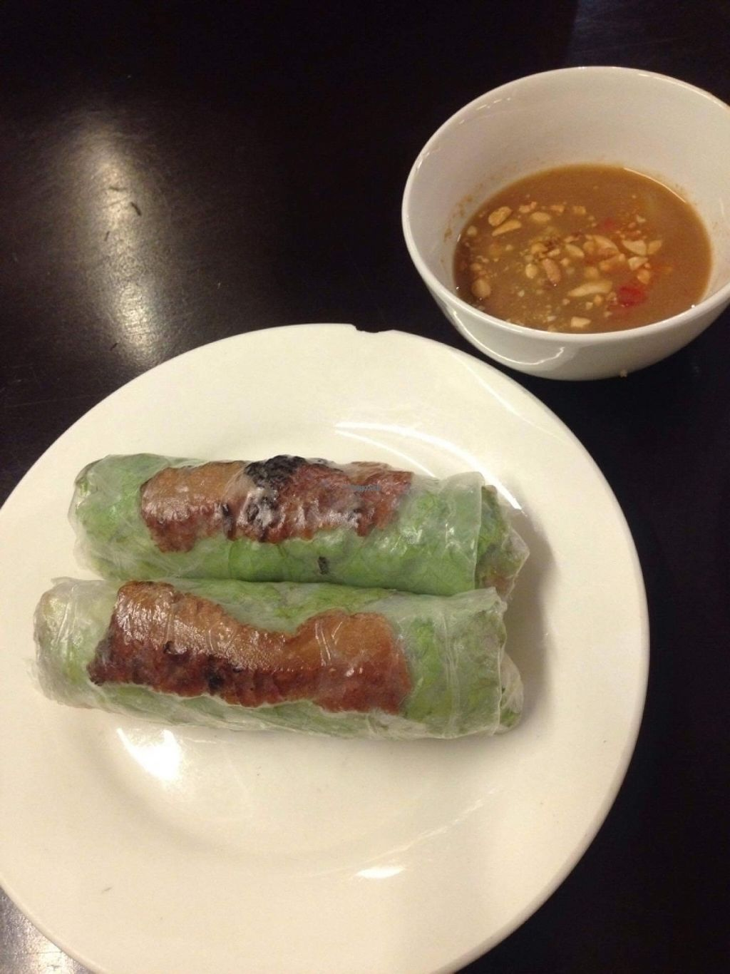 """Photo of Hoa Sen - Nha Hang Chay  by <a href=""""/members/profile/TeddyCourage"""">TeddyCourage</a> <br/>fresh spring rolls <br/> November 2, 2016  - <a href='/contact/abuse/image/18728/186014'>Report</a>"""