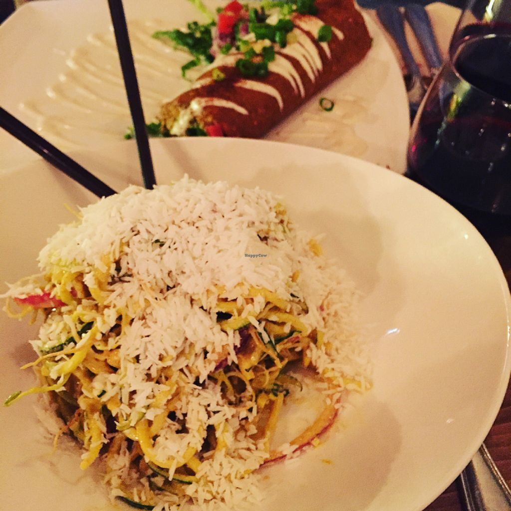 """Photo of Raw Aura  by <a href=""""/members/profile/veggie_ween"""">veggie_ween</a> <br/>Curry noodles and burrito <br/> June 12, 2016  - <a href='/contact/abuse/image/18753/153681'>Report</a>"""