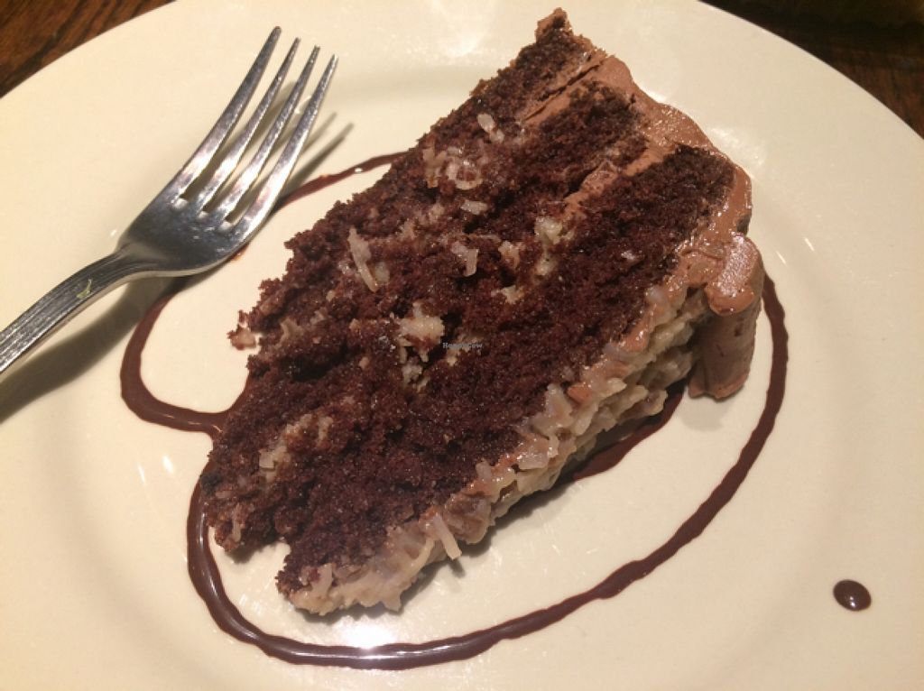 """Photo of Cafe Sunflower - Buckhead  by <a href=""""/members/profile/Risa8"""">Risa8</a> <br/>German chocolate cake...half a piece! <br/> January 9, 2016  - <a href='/contact/abuse/image/1875/131731'>Report</a>"""