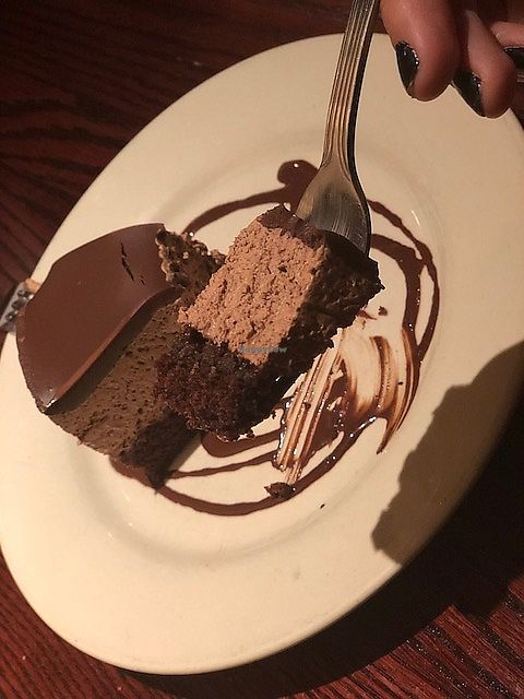 """Photo of Cafe Sunflower - Buckhead  by <a href=""""/members/profile/Dancingpurplemermaid"""">Dancingpurplemermaid</a> <br/>raspberry chocolate cake! <br/> April 19, 2018  - <a href='/contact/abuse/image/1875/388273'>Report</a>"""