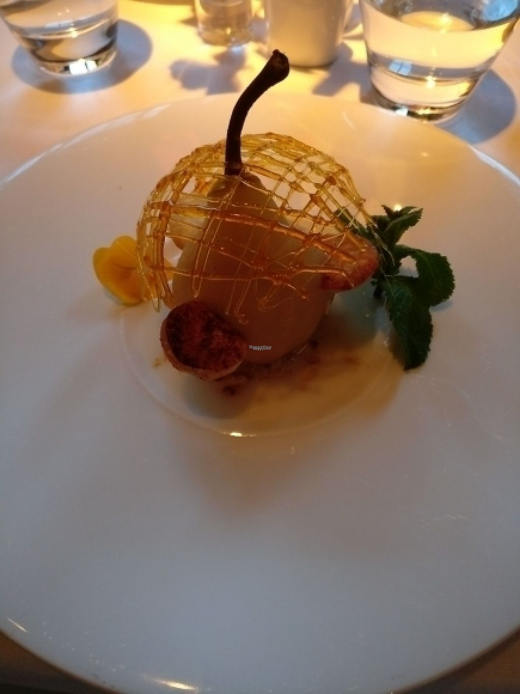"""Photo of Fellinis  by <a href=""""/members/profile/quench"""">quench</a> <br/>vegan poached pear <br/> April 24, 2017  - <a href='/contact/abuse/image/18792/251955'>Report</a>"""