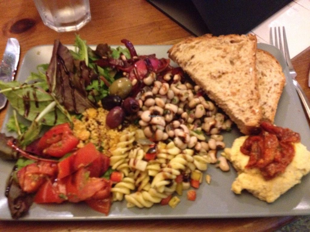 """Photo of Rattle Gill Cafe  by <a href=""""/members/profile/RubyFriel"""">RubyFriel</a> <br/>mixed salad plate <br/> December 15, 2014  - <a href='/contact/abuse/image/18799/88044'>Report</a>"""