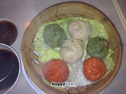 """Photo of Harmony Vegetarian  by <a href=""""/members/profile/gwild"""">gwild</a> <br/>steamed dumplings <br/> August 15, 2013  - <a href='/contact/abuse/image/1879/53318'>Report</a>"""