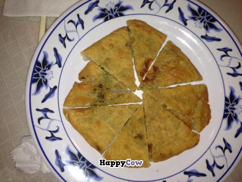 """Photo of Harmony Vegetarian  by <a href=""""/members/profile/gwild"""">gwild</a> <br/>Chinese pizza <br/> August 15, 2013  - <a href='/contact/abuse/image/1879/53319'>Report</a>"""