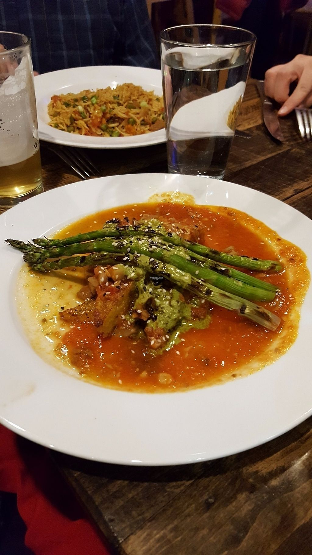 """Photo of The Red Lentil  by <a href=""""/members/profile/veganin2014"""">veganin2014</a> <br/>Butternut squash Polenta <br/> March 7, 2017  - <a href='/contact/abuse/image/18827/233983'>Report</a>"""